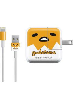 Gudetama Up Close Shell iPad Charger (10W USB) Skin