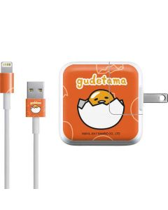 Gudetama Shell Pattern iPad Charger (10W USB) Skin