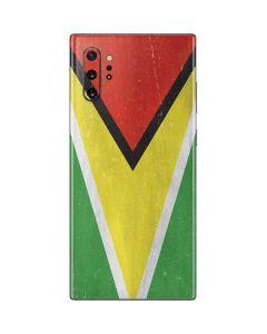 Guyana Flag Distressed Galaxy Note 10 Plus Skin