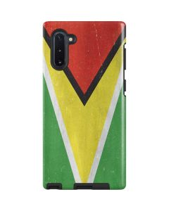 Guyana Flag Distressed Galaxy Note 10 Pro Case