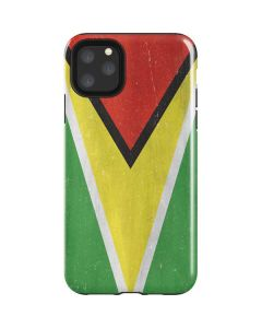 Guyana Flag Distressed iPhone 11 Pro Max Impact Case