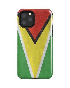 Guyana Flag Distressed iPhone 11 Pro Impact Case