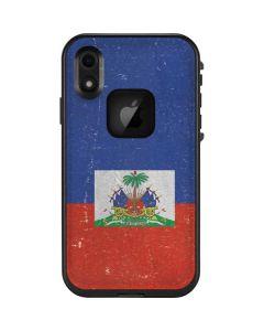 Haitian Flag Distressed LifeProof Fre iPhone Skin