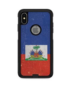 Haitian Flag Distressed Otterbox Commuter iPhone Skin