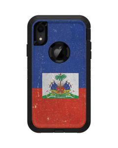 Haitian Flag Distressed Otterbox Defender iPhone Skin