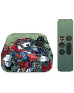 Harley Quinn and Baby Joker Apple TV Skin