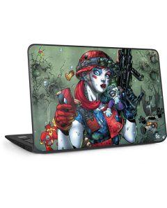 Harley Quinn and Baby Joker HP Chromebook Skin