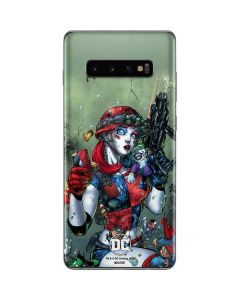 Harley Quinn and Baby Joker Galaxy S10 Plus Skin
