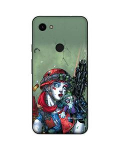 Harley Quinn and Baby Joker Google Pixel 3a Skin