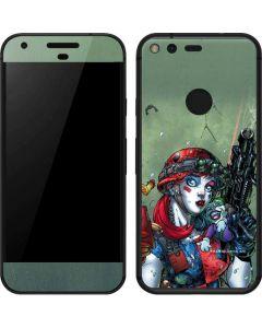Harley Quinn and Baby Joker Google Pixel Skin