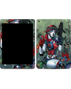 Harley Quinn and Baby Joker Apple iPad Skin