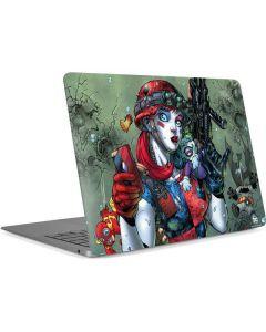 Harley Quinn and Baby Joker Apple MacBook Air Skin