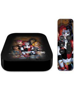 Harley Quinn and Crew Apple TV Skin