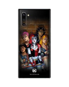 Harley Quinn and Crew Galaxy Note 10 Skin