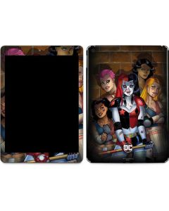 Harley Quinn and Crew Apple iPad Skin