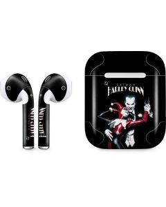 Harley Quinn and The Joker Apple AirPods Skin