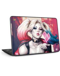 Harley Quinn Animated HP Chromebook Skin