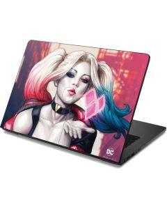 Harley Quinn Animated Dell Chromebook Skin
