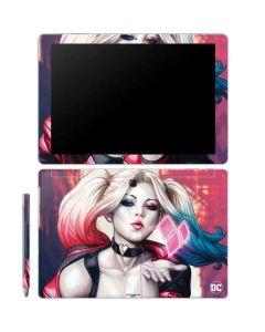 Harley Quinn Animated Galaxy Book 12in Skin
