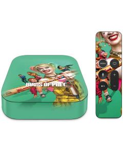 Harley Quinn Birds of Prey Apple TV Skin