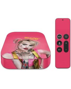 Harley Quinn Blowing Kisses Apple TV Skin