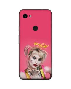 Harley Quinn Blowing Kisses Google Pixel 3a Skin