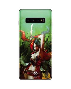 Harley Quinn Fighting Galaxy S10 Plus Skin
