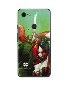 Harley Quinn Fighting Google Pixel 3 XL Skin