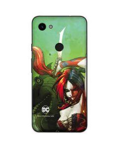 Harley Quinn Fighting Google Pixel 3a Skin