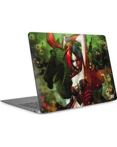 Harley Quinn Fighting Apple MacBook Air Skin