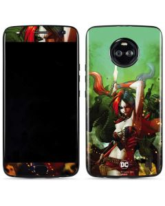 Harley Quinn Fighting Moto X4 Skin