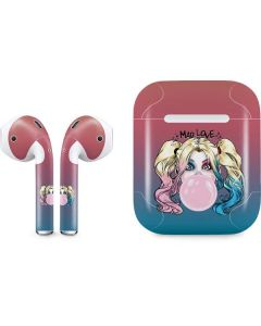 Harley Quinn Mad Love Apple AirPods Skin