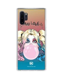 Harley Quinn Mad Love Galaxy Note 10 Plus Clear Case