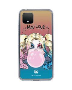 Harley Quinn Mad Love Google Pixel 4 XL Clear Case