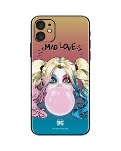 Harley Quinn Mad Love iPhone 11 Skin