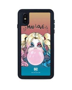 Harley Quinn Mad Love iPhone XS Max Waterproof Case