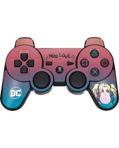 Harley Quinn Mad Love PS3 Dual Shock wireless controller Skin