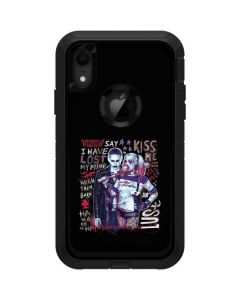 Harley Quinn Madly in Love Otterbox Defender iPhone Skin