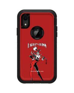 Harley Quinn Portrait Otterbox Defender iPhone Skin