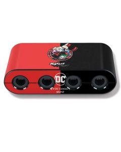 Harley Quinn Puddin Nintendo GameCube Controller Adapter Skin