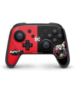 Harley Quinn Puddin Nintendo Switch Pro Controller Skin