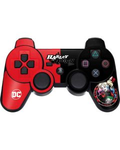 Harley Quinn Puddin PS3 Dual Shock wireless controller Skin