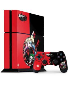 Harley Quinn Puddin PS4 Console and Controller Bundle Skin