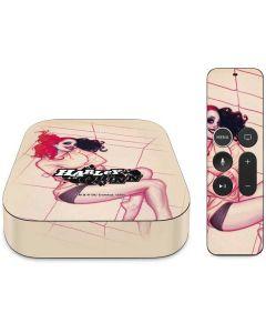 Harley Quinn Sketch Apple TV Skin