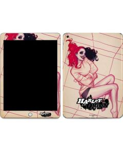Harley Quinn Sketch Apple iPad Skin
