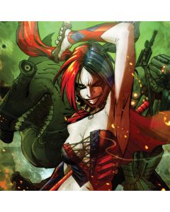 Harley Quinn Fighting Asus X202 Skin