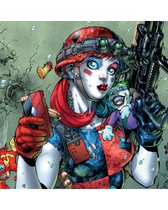 Harley Quinn and Baby Joker Playstation 3 & PS3 Slim Skin