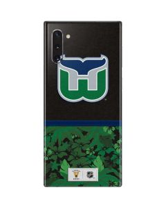 Hartford Whalers Retro Tropical Print Galaxy Note 10 Skin