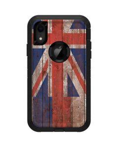 Hawaiian Flag Dark Wood Otterbox Defender iPhone Skin