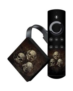 Hear Speak and See No evil Amazon Fire TV Skin